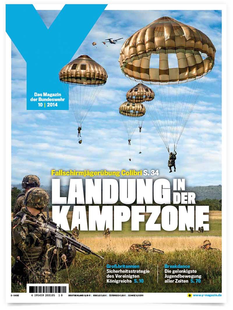 Y-Magazin der Bundeswehr | Patrick Weseloh | im Auftrag für C3 Creative Code and Content GmbH