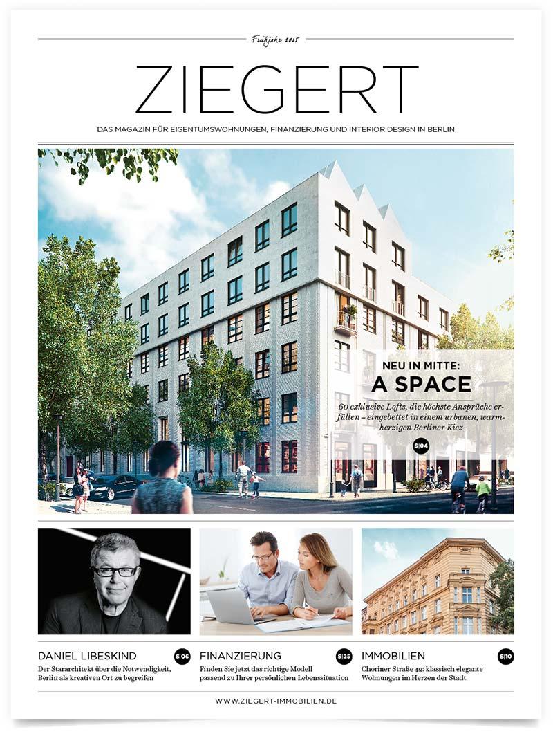 Ziegert Magazin | Patrick Weseloh | im Auftrag für C3 Creative Code and Content GmbH