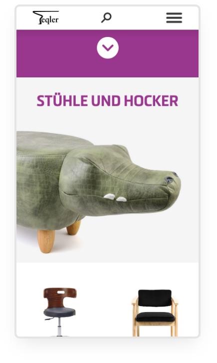 Teqler Webseite UI Design | © Patrick Weseloh | weseloh.media